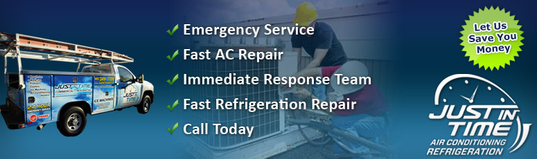 Just In Time Refrigeration Air Conditioning Service